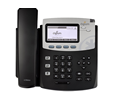 Digium Phone, D45 2-line SIP Phone - Power Supply not Included - Open Box (1TELD045LF-OB)