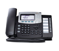 Digium Phone, D50 4-Line SIP with HD Voice, International Version,  - Power Supply not Included - Open Box (1TELD051LF-OB)