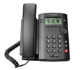 Polycom VVX 101 Business Media Phone and VQMon (PoE) - without Power Supply (2200-40250-025-VQMON)