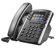 Polycom VVX 401 12-line Desktop Phone with HD Voice (PoE) Skype for Business Edition (2200-48400-019)